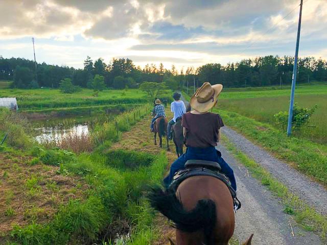 初心者でも乗馬は楽しめる