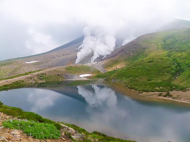北海道でも有名な旭岳