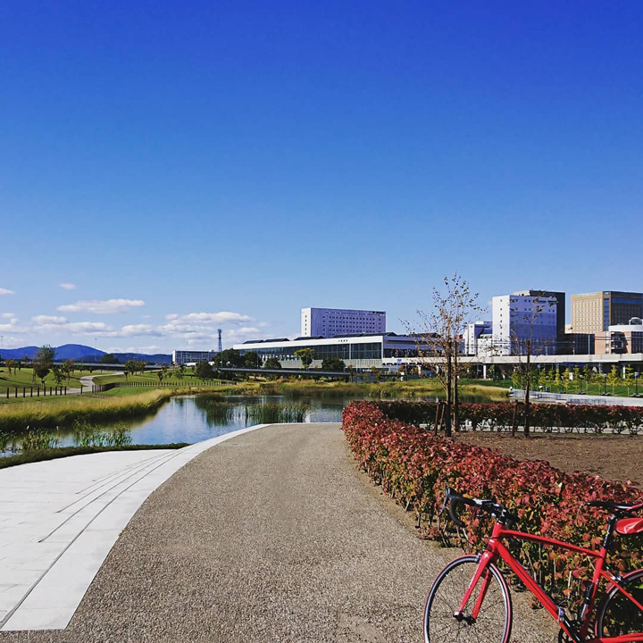 旭川でレンタサイクル